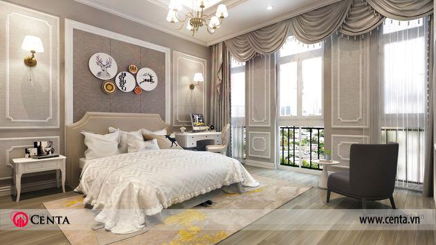 Thiết kế phòng ngủ Thiết kế nhà liền kề Louis City