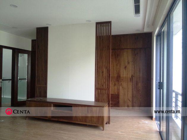 Lắp đặt nội thất phòng khách biệt thự