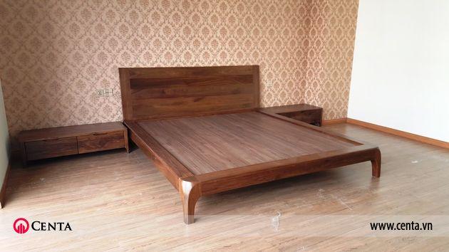 Lắp đặt nội thất phòng ngủ con biệt thự