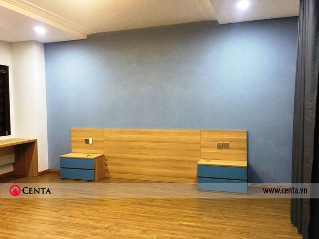 Lắp đặt nội thất phòng ngủ master biệt thự