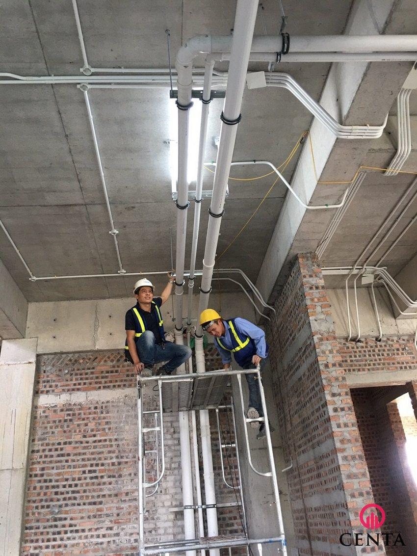 Tổ chức thi công đường ống kỹ thuật thoát nước sắc nét và chất lượng