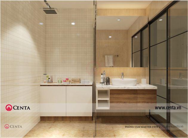 Mẫu phòng vệ sinh phòng tắm đẹp Gamuda Gardens
