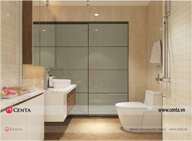 Thiết kế phòng vệ sinh phòng tắm tủ lavabo toilet sen tắm