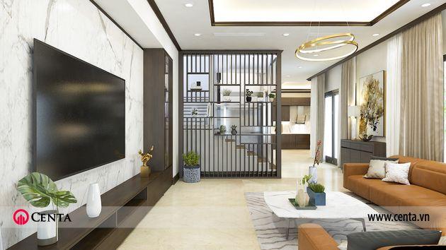 Thiết kế thi công nội thất biệt thự liền kề 3 tầng Gamuda Gardens