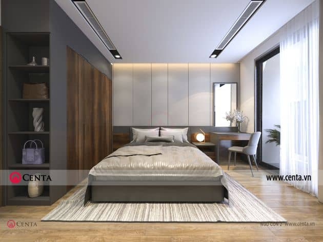Thiết kế phòng ngủ con 1 nội thất cao cấp