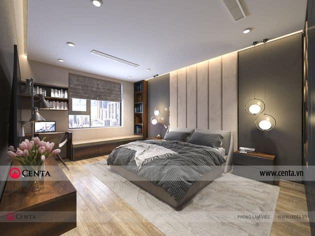 Phòng ngủ hiện đại và đầy đủ tiện nghi