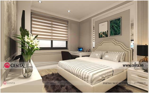 Thiết kế Nội thất Phòng ngủ con - Căn hộ Vinhomes Ocean Park.