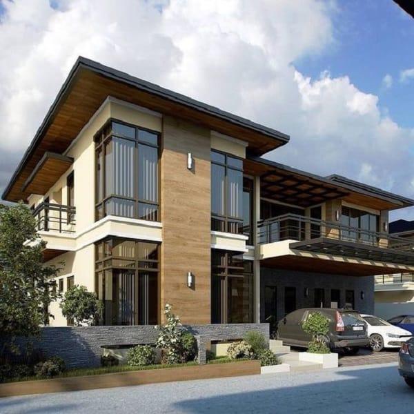biệt thự đẹp 2 tầng hiện đại tham khảo