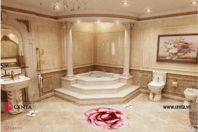 Mẫu thiết kế nội thất nội thất biệt thự cổ điển đẹp
