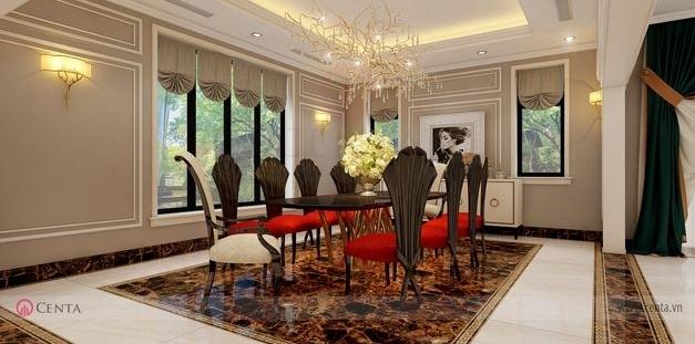 Giá thiết kế nội thất thiết kế nội thất nhà bếp biệt thự