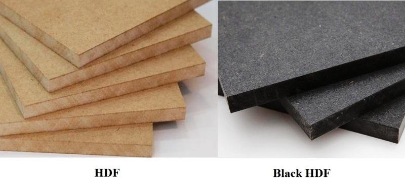 Gỗ An Cường HDF thường và HDF đen, Black HDF