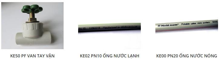 Ống nước PPR Kelen Ke50 PF van tay vặn, Ke20 PN10 ống lạnh Ke00 PN20 ống nước nóng