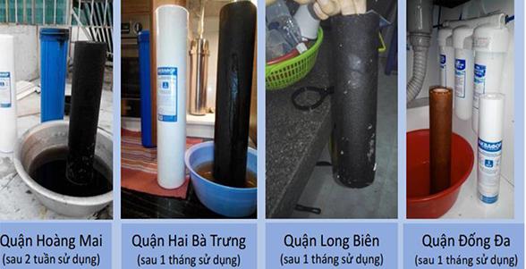 Thực trạng xử lý nước tại các quận nội thành Hà Nội
