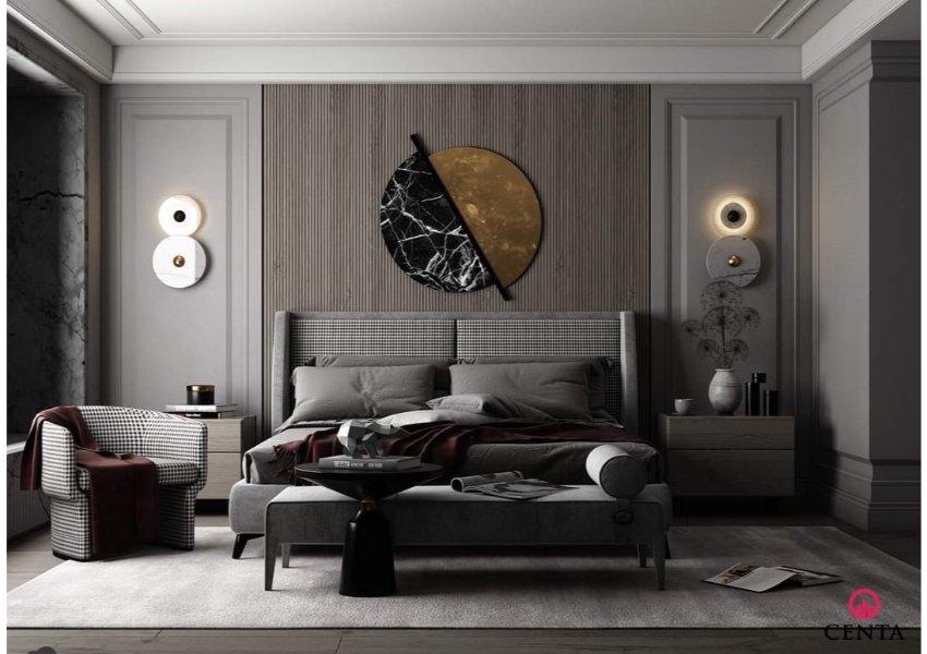 Phòng ngủ đẹp có ghế thư giãn, ghế ngồi sofa phòng ngủ