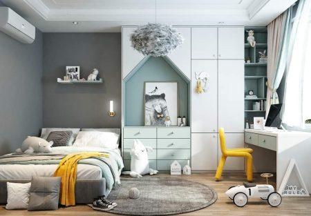 phòng ngủ trẻ em đẹp, mẫu phòng ngủ 2021