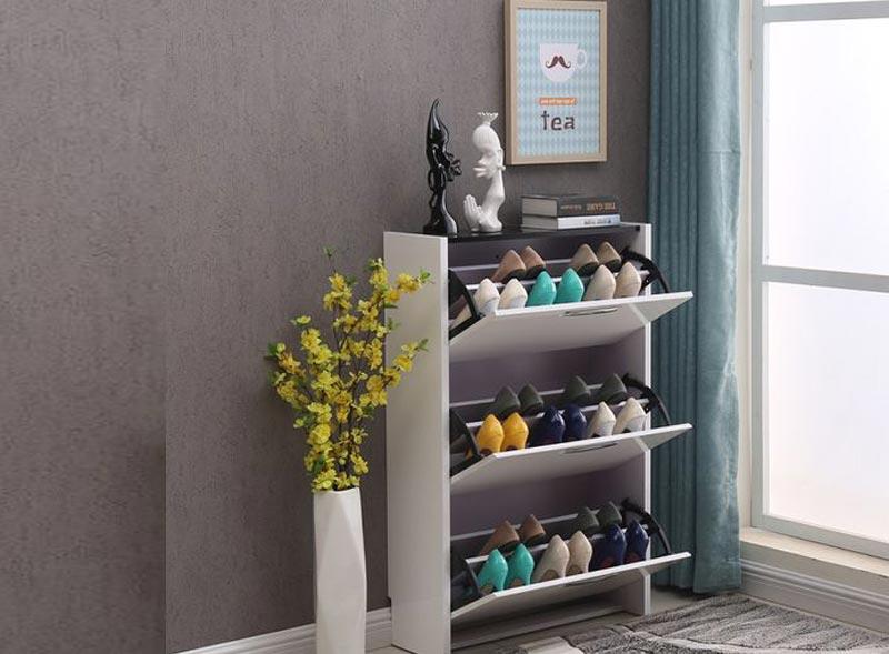 tủ để giày bằng sắt