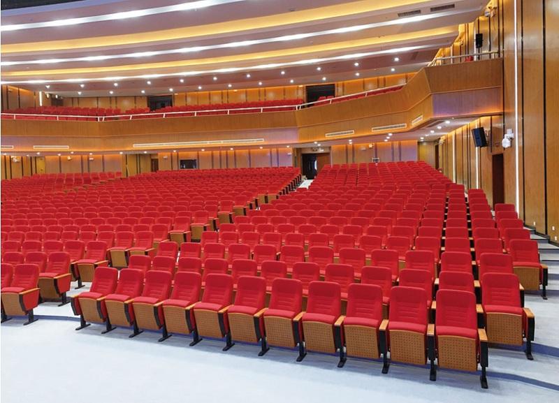 Ghế hội trường màu đỏ phòng họp quốc hội