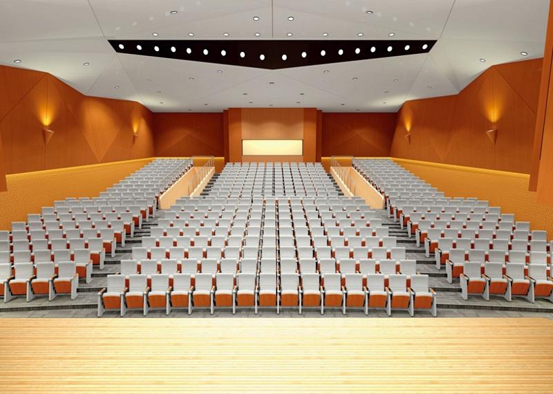 Ghế hội trường trung tâm hội nghị phòng lớn